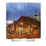 Annapolis Main Street Shower Curtain