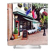 Annapolis Md - Restaurant On State Circle Shower Curtain