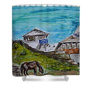 Annapurna Trekking Base Camp Shower Curtain