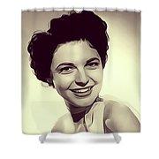 Anne Bancroft, Vintage Actress Shower Curtain