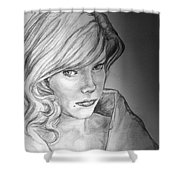 Anne Francis Shower Curtain