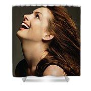 Anne Hathaway Shower Curtain