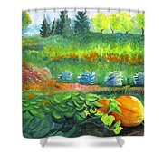 Annes Garden Shower Curtain