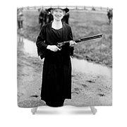 Annie Oakley, American Folk Hero Shower Curtain