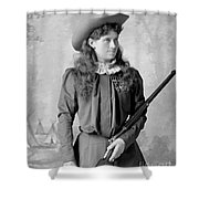 Annie Oakley Shower Curtain