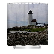 Annisquam Lighthouse Shower Curtain