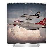 Anniversary Typhoons Shower Curtain