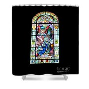 Annuciation Of Virgin Mary Mother Most Holy Shower Curtain