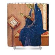 Annunciation Fragment 1311 Shower Curtain