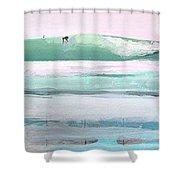 Ano Nuevo Shower Curtain