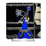 Anointing Of Jesus Christ Shower Curtain