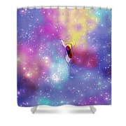 Anomaly In Space Shower Curtain