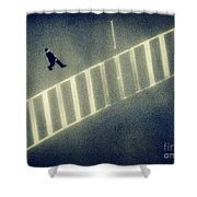 Anonymity Shower Curtain by Dana DiPasquale