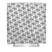 Anonymous Me Printable Shower Curtain