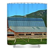 Another Angle Shower Curtain