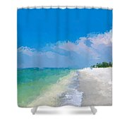 Another Beach Day Shower Curtain