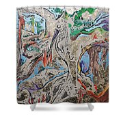 Another Branch Shower Curtain