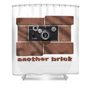 Another Brick . . 2 Shower Curtain