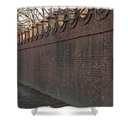 Another Brick In The Wall Shower Curtain