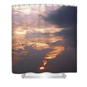 Another California Sunset Shower Curtain