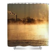 Another Cold Day Shower Curtain