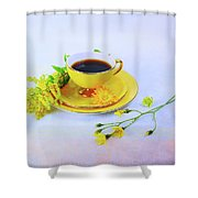 Another Cup Of Coffee Shower Curtain