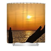 Another Day Done Shower Curtain