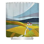 Another Day On The Farm Shower Curtain
