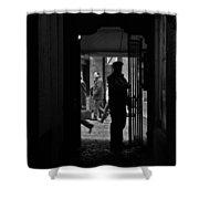 Another Door Opens  Shower Curtain