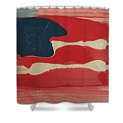 Another Flag Shower Curtain