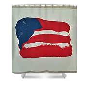Flag Shower Curtain