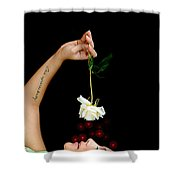 Another Flower Shower Curtain