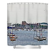 Another Harbor View Shower Curtain