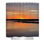 Another Hilton Head Island Sunset Shower Curtain