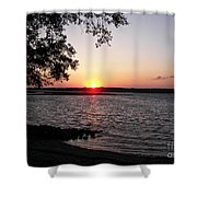 Another Hilton Head Sunset Shower Curtain