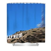 Another Hollywood Sign Shower Curtain