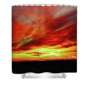 Another Illinois Sunset Shower Curtain