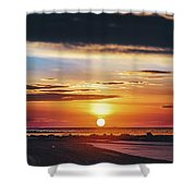 Another Island Morning Shower Curtain