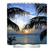 Another Key West Sunset Shower Curtain