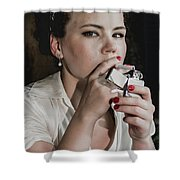 Another Light Shower Curtain