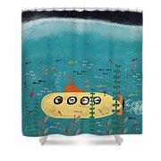 Another Little Advenutre Shower Curtain