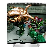 Another Octopus Shower Curtain