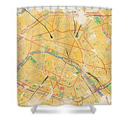 Another Paris Shower Curtain
