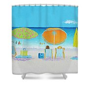 Another Perfect Beach Day Shower Curtain