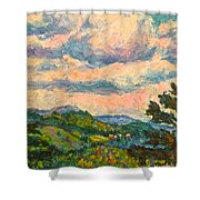 Another Rocky Knob Shower Curtain