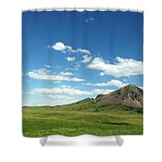 Another Side Of Bear Butte Shower Curtain