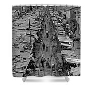 Another Side Of Cuzco-signed-#008 Shower Curtain