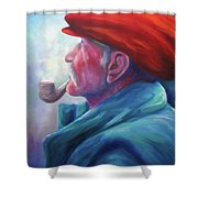 Another Side Of St. Francis Shower Curtain