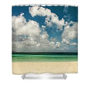 Anguilla - Another Spectacular Beach  Shower Curtain