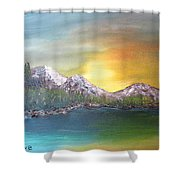 Another Sunny Morning Shower Curtain